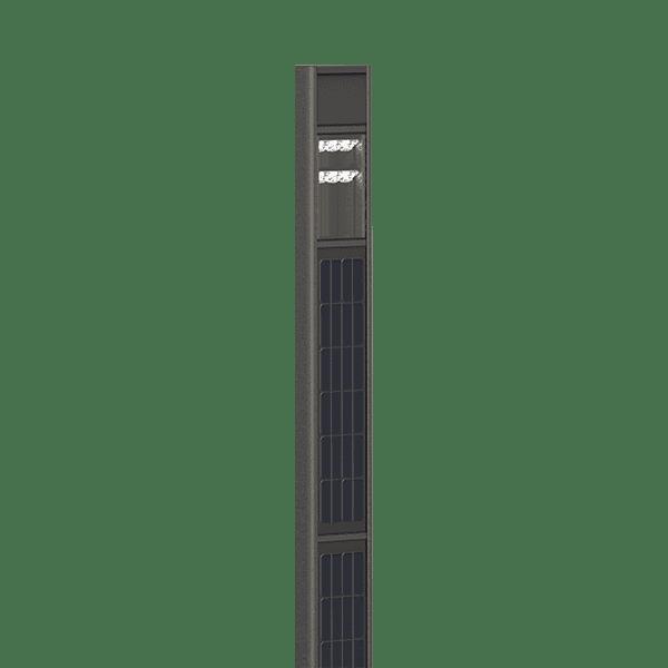 Colonne solaire lumineuse Totem Dualsun