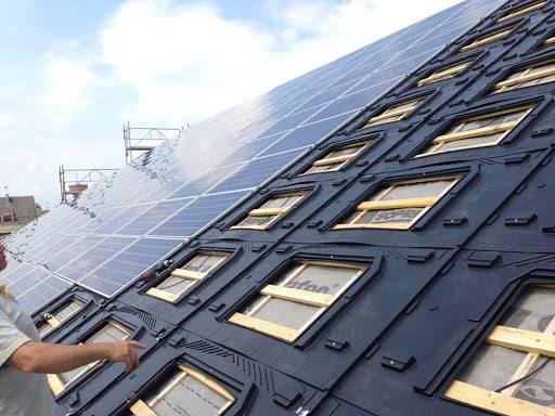 pose pannneaux solaire in roof GSE panneaux solaires