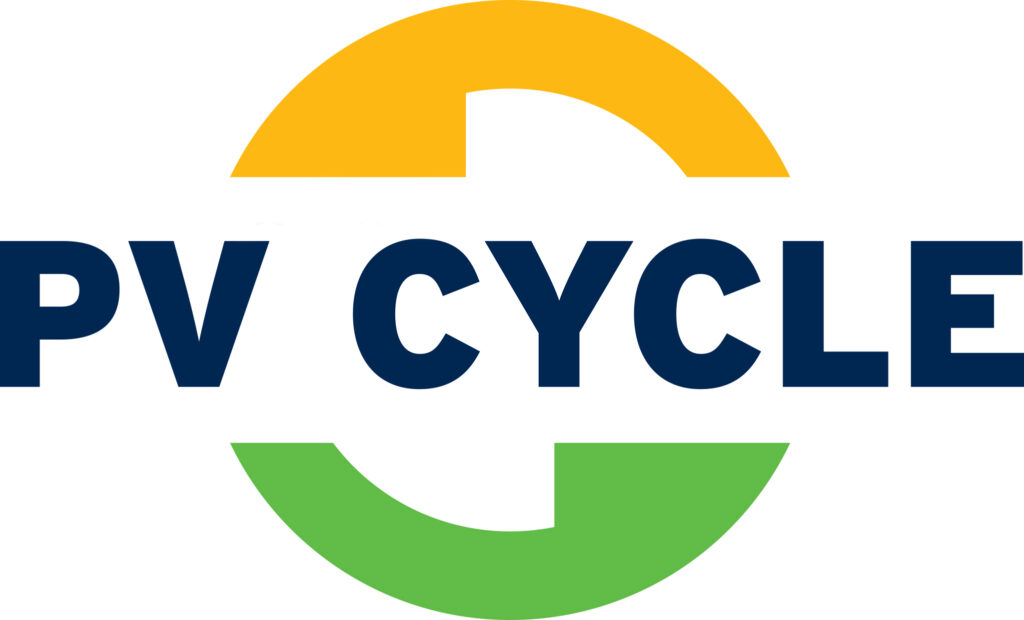 Logo grand PV cycle recyclage panneau solaire
