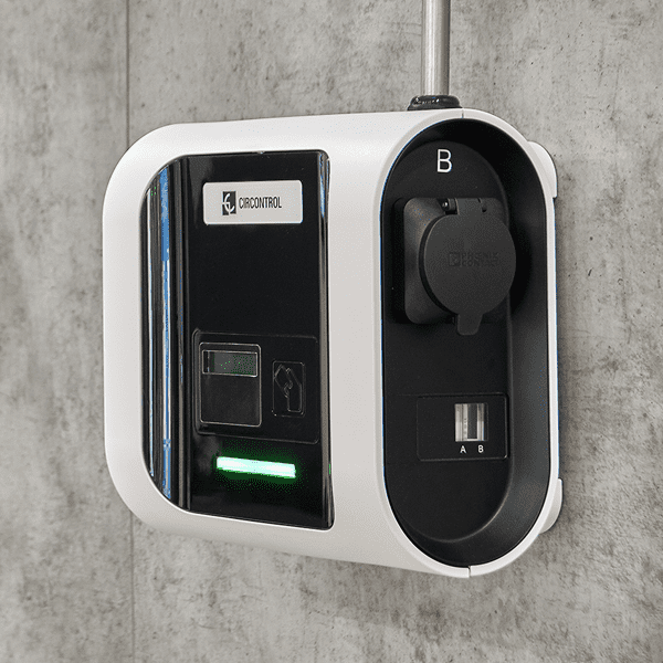 CirControl borne chargement véhicule électrique enext park2